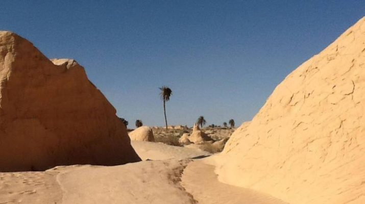 Foto Tra dune e set di film