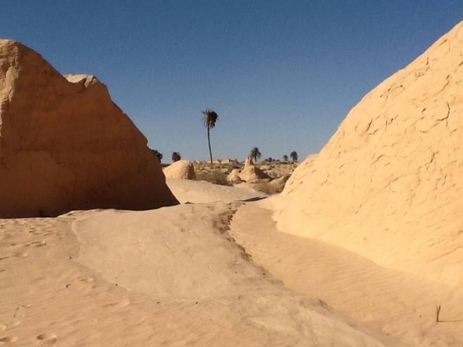 Tra dune e set di film