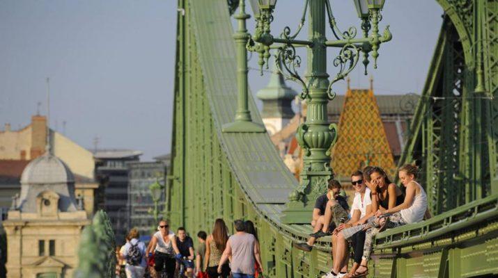 Foto Budapest, la movida sul Danubio