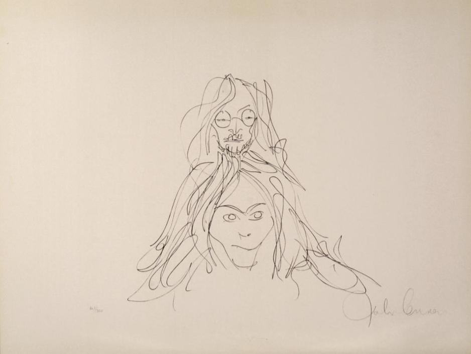 I disegni erotici di John Lennon in mostra a Modena