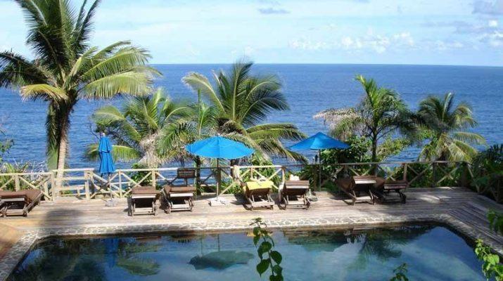 Foto Caraibi: capanne in saldo