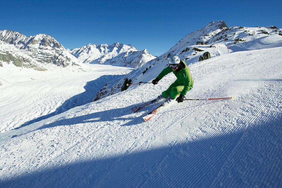 Grande sci nel Vallese