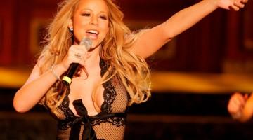 La cantautrice Mariah Carey (foto Alamy-Milestonemedia)