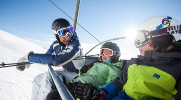 La skiarea di Jochtal ha due macro zone, una dedicata alle famiglie e ai principianti e una in grado di accontentare anche gli sciatori più accaniti.
