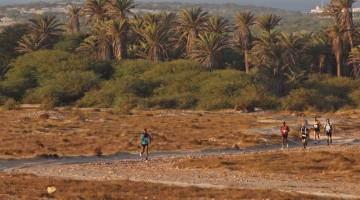 La corsa off-road passa per sentieri secolari, fra deserti di sabbia bianca e distese di pietra lavica o dentro le oasi incorniciate dall?Oceano Atlantico