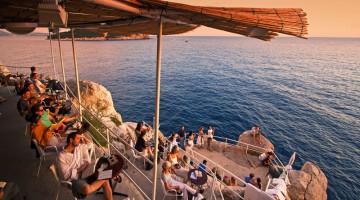 Buza Bar a Dubrovnik: ottima posizione panoramica per l'ora dell'aperitivo a Dubrovnik (foto:alamy/milestonemedia)