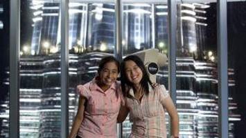 Belle di giorno e suggestive di notte qualndo sono illuminate le Petronas Twin Towers nel cuore di Kuala Lumpur