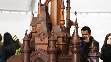 Sculture dolci a Obidos: l?edizione 2012 del Festival del cioccolato è dedicata a Disneyland Paris