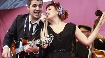 Musica e sonorità jazz alla Notte Bianca di Locarno: gli Sugarpie & the Candymen suonano in piazza Sant'Antonio