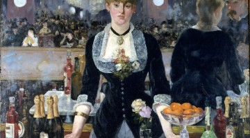 Tra i suoi quadri più famosi c'è Al Bar Folies-Bergère di Manet (foto: Samuel Courtauld Trust, The Courtauld Gallery, London)