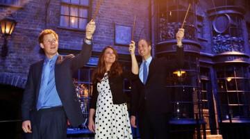 Ne sono rimasti affascinati anche i giovani reali di Inghilterra (foto: Facebook/Harry Potter at Warner Studios)