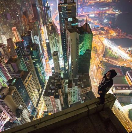Rooftopping: il selfie dal grattacielo a prova di vertigine