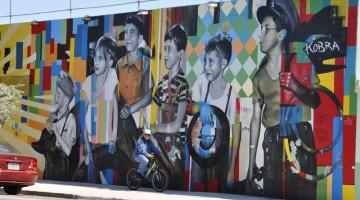 Wynwood walls: l'intero quartiere è una specie di museo on the road con i graffiti dei migliori street artist internazionali (foto: Valentina Castellano Chiodo)