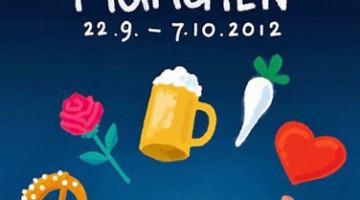 La loncandina della nuova edizione dell'Oktoberfest: quest'anno si tiene nella piccola area Wiesn (piccola solo di nome, visto che si tratta di un?area di oltre 105.000 metri quadrati)