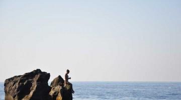 Stromboli, un vulcano in mezzo al mare (foto Alessandra Turci)