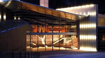 PalaRotari è il grande auditorium della Cittadella del Vino, a Mezzocorona (Trentino). Ospita eventi e convegni e ha 1300 posti a sedere, un ampio foyer ed è dotato di tecnologie audio e video