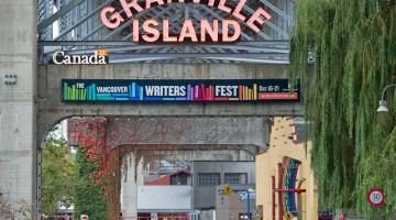 Dal 22 al 27 ottobre 2013 cercate l'ispirazione con il Vancouver Writers Festival (foto: Chris Cameron/Tourism Vancouver)