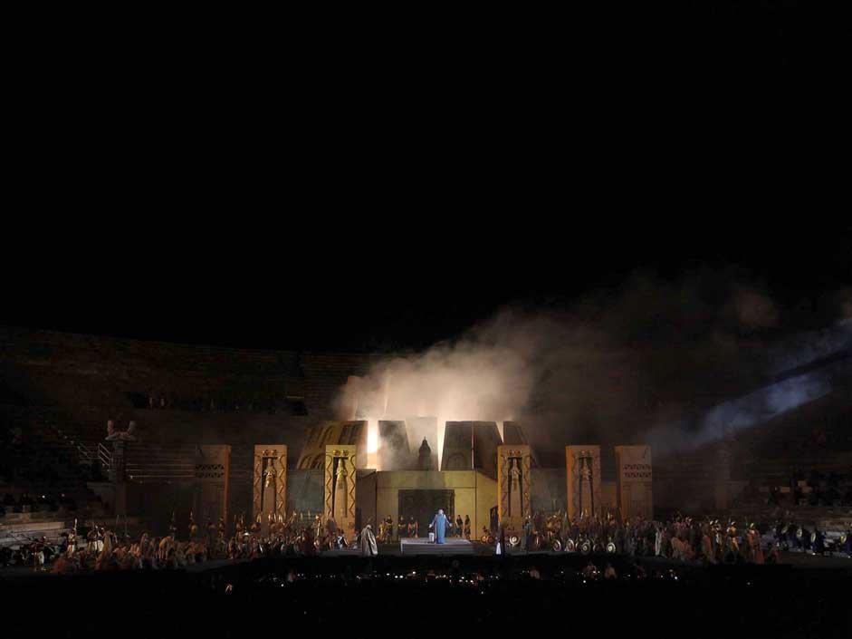 Nabucco all'Arena di Verona: LE FOTO