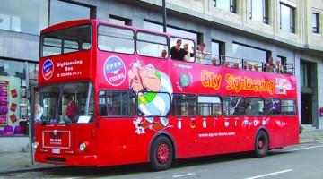 Bruxelles hop-on hop-off: il bus si può prendere illimitatamente in stile sali e scendi è una valida alternativa alla classica visita guidata