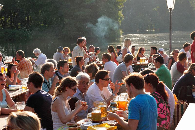 Monaco estate nei giardini della birra dove viaggi for Laghetti nei giardini