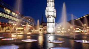 Sergels Torg è la piazza principale di Stoccolma (foto: Ola Ericson/imagebank.sweden.se)