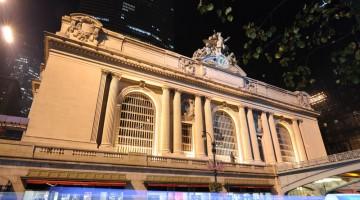 La facciata del Grand Central Terminal (foto Alamy/Milestonemedia)
