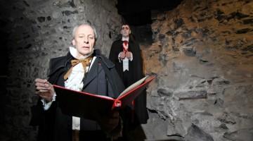 Cantastorie e misteriosi personaggi nel Castello di Dublino (foto: Facebook/Bram Stocker Festival)