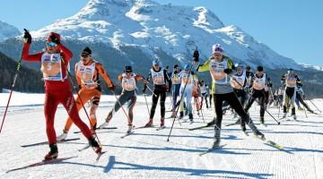 Il 30 novembre 2011, a Pontresina, viene aperta ufficialmente la stagione dello sci di fondo (foto: archivio Svizzera turismo)