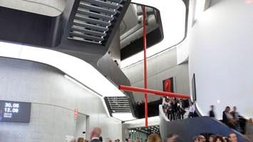 Il Maxxi di Roma è stato progettato dalla visionaria Zaha Hadid (foto: Alamy/Milestonemedia)