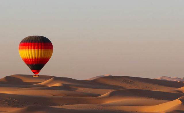 Tendenza mongolfiera: voli spettacolo dal mondo