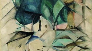 """""""La riva della Senna"""", dipinto del 1912 di Aleksandra Ekster"""