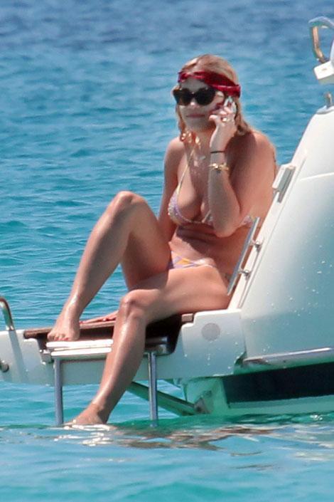 Star in vacanza in barca: LE FOTO