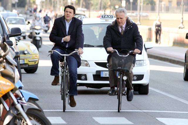 Il segreto di Renzi? La bicicletta