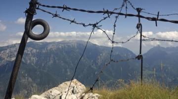 Reticolari di guerra sul Monte Zugna (Fototeca Trentino Sviluppo S.p.A FOTO DI:  Enrico Genovesi)