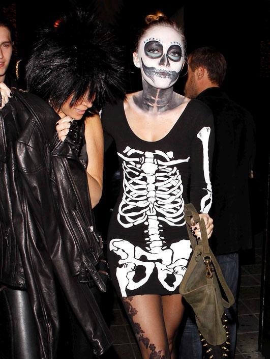 Halloween: i costumi più sexy dei vip