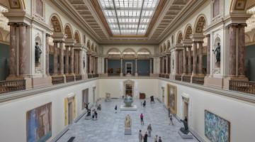 Il Musees Royaux des Beaux Arts de Belgique, uno dei più affascinanti di Bruxelles (foto Alamy/Milestone Media)