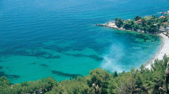 Foto Liguria, blu a Ponente