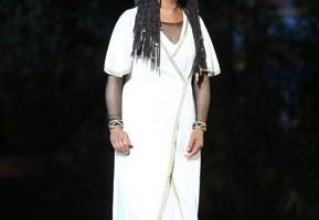 Monica Zanettin, debuttante in Arena nel ruolo della schiava etiope, sarà di nuovo sul palco domenica 31 agosto
