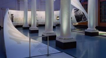 Una sala del Museo Nobel, nel centralissimo quartiere di Gamla Stan