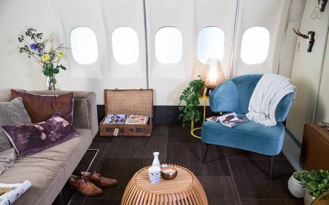 Foto Se la casa è un aereo: l'appartamento più curioso di Amsterdam
