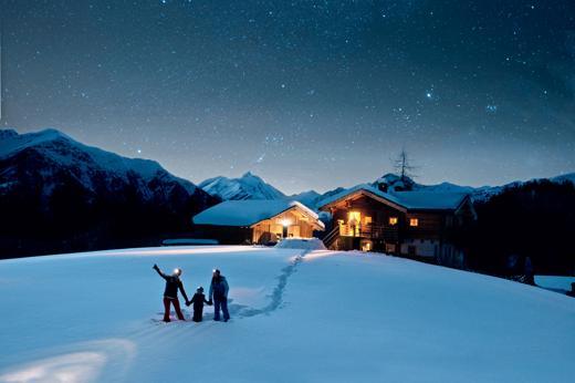 La notte delle stelle nel Parco Nazionale degli Alti Tauri dove non esiste inquinamento luminoso