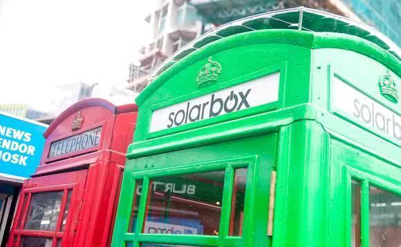 Foto Londra: la cabina diventa green