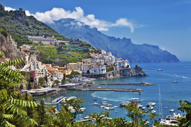 view of Amalfi, Positano