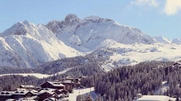Uno scorcio di Courchevel a 1850 metri d'altitudine