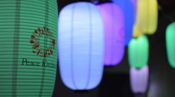 Le lanterne hi-tech dei creativi di Rhizomatiks e PLAY illuminano le Japan Night in Cascina Cuccagna.