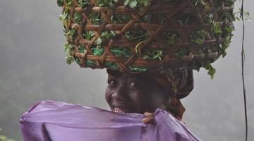 Una donna della popolazione di Nosy Be.