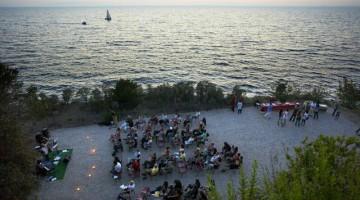 Un concerto del festival i riva al mare