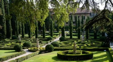 Giardino Giusti, a Verona     (Provincia di Verona Turismo – Foto : T. Weimar e F. Zanetti)