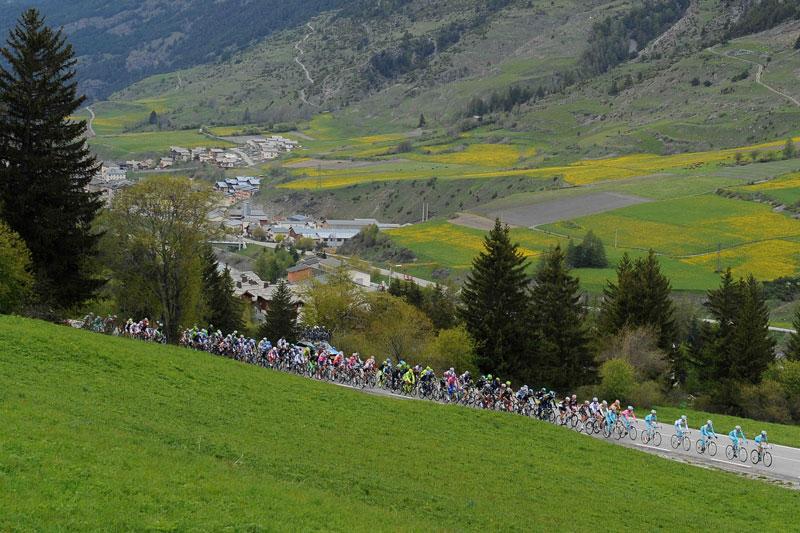Il Giro d'Italia 2013 è iniziato il 4 maggio e si conclude il 26 maggio a Brescia (foto: LaPresse)
