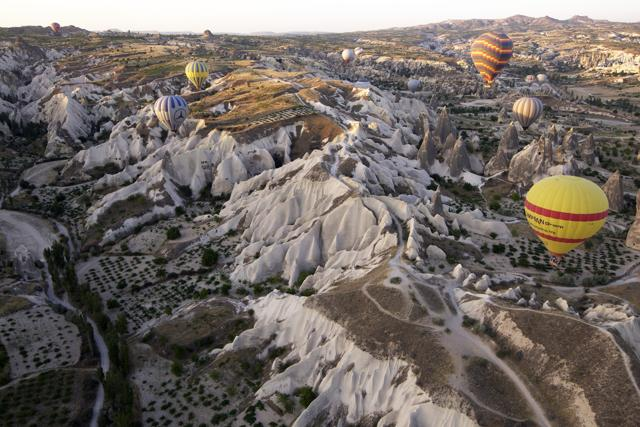 Cuore di pietra: avventura in Cappadocia